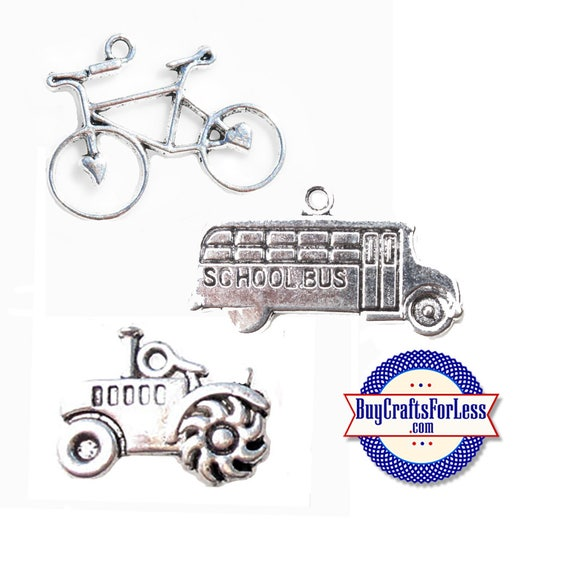 BiCYLE, BuS, TRaCTOR-Choose Your Transportation, 8, 12, 24 pcs +FREE Shipping & Discounts*