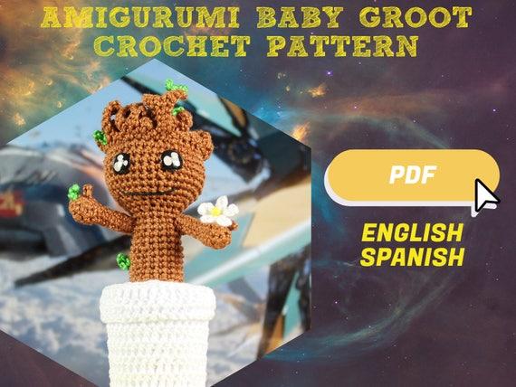 Amigurumi Patterns Groot : Groot pattern amigurumi pattern groot diy amigurumi diy