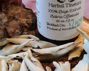 Pure Sage Tincture~ Herbal Extract