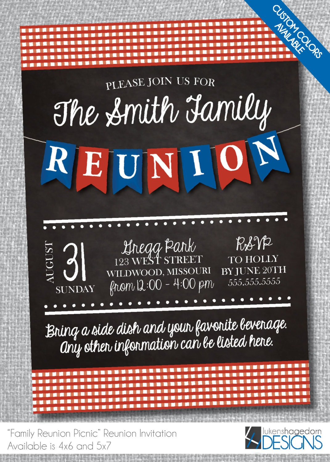 It's just a photo of Crush Free Printable Family Reunion Invitations