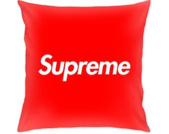 Supreme pillow cover
