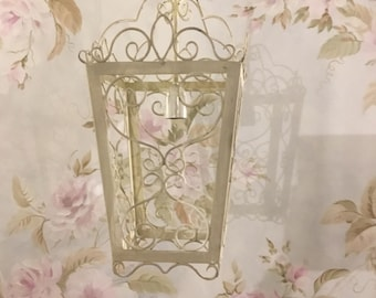 Lantern with light