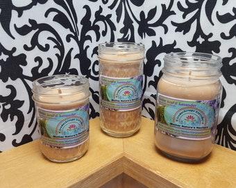Cedar Leaf & Lavender - 100% Soy Wood Wick Candles
