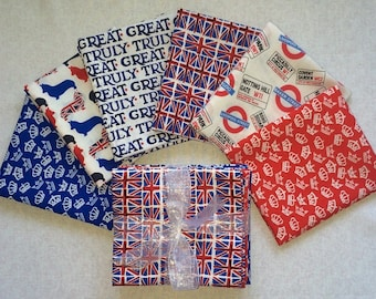 Truly British Fat Quarter Bundle