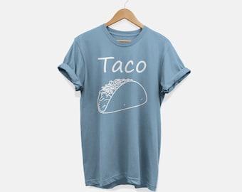 "Taco Shirt Women ""Taco"" Cinco De Mayo Tee Tacos and Tequila Mexican Holiday Taco tshirt Taco Tuesdays Tops & Tees"
