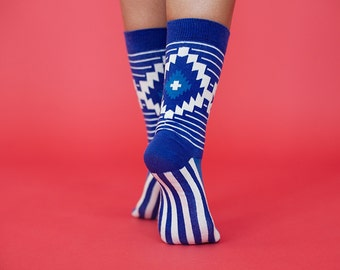 Crio colorful socks for  women. Fun patterned socks.Mother's Day gift.
