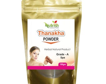 Thanaka Powder Grade-A  100 gm  for Hair Removal  and Skin Whitening  Herbal Product