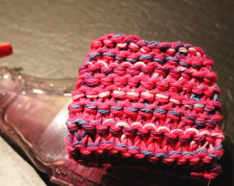 Knitting by hand