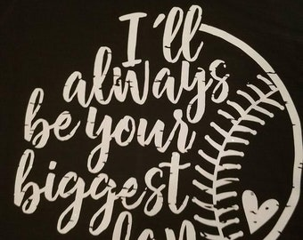 Biggest Fan baseball shirt