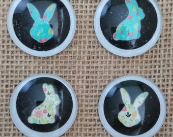 Happy Easter Magnets - Easter Bunny Magnets - Easter Egg Magnets
