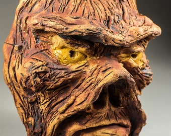 Swamp Thing DC Comics sculptural mask