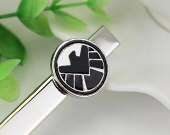 Shield Inspired Tie Clip