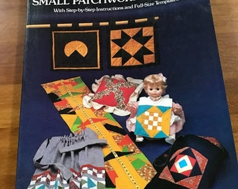 MAYniaSALE Vintage Barbara Brondolo Small Patchwork Projects pattern book
