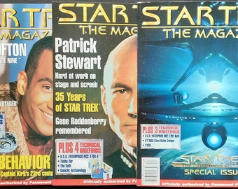 Collection of Star Trek The Magazine (nearly complete)
