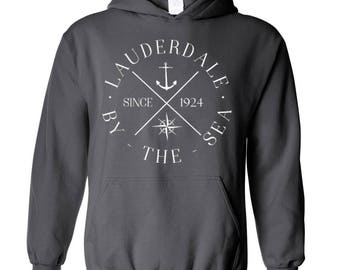 Lauderdale-By-The-Sea ~ Adult Hoodie [SM-XXL] pMtiV0g