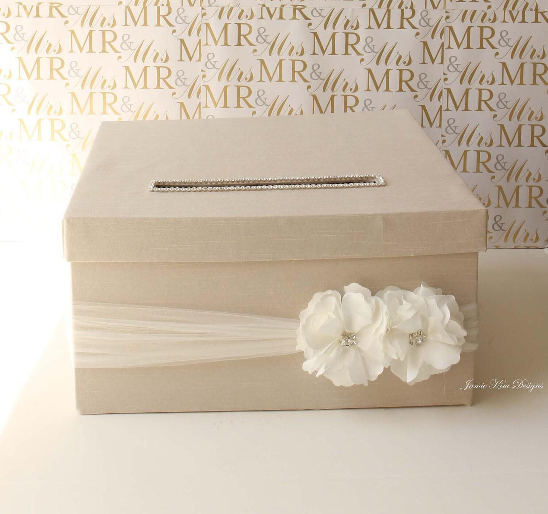 Wedding Card Money Box Money Holder Custom Card Box