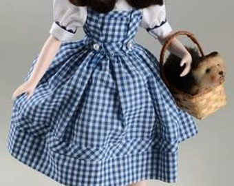 Vintage 16-inch Porcelain Doll- Judy Garland as Dorothy from The Wizard of Oz- New in Box