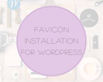 Favicon Installation for Wordpress