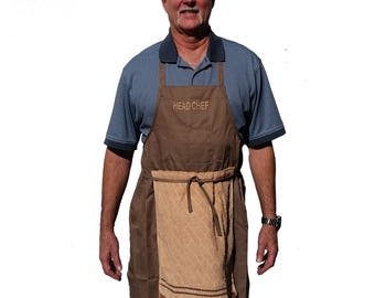 DELUXE HEAD CHEF Penis Apron prank gag joke funny hysterical gift costume!!