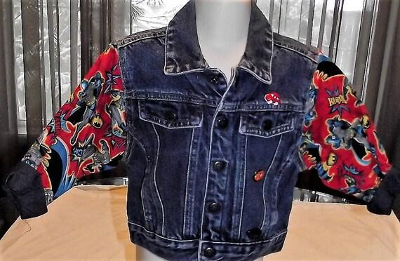 Refurbished Boys Denim Jacket, Size 2T