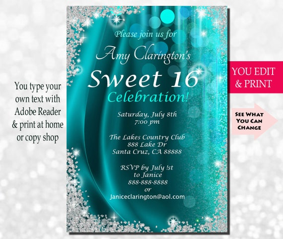 Sweet sixteen invitation sweet sixteen party invitation sweet sixteen invitation sweet sixteen party invitation sweet 16 invitation sweet 16 birthday invitation sweet 16 party you edit pdf solutioingenieria Images
