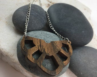 Bocote Wood Necklace - Artemis