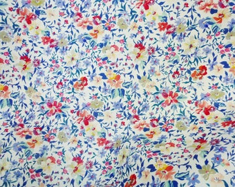 """Leather 8""""x10"""" Small White Flower garden leather (NOW THIN) 1.5-1.75 oz/0.6-0.8 mm PeggySueAlso™ E2177-01 Full hides available"""