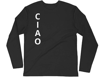 Ciao Long Sleeve Fitted Crew