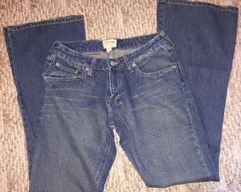 Vintage Abercrombie & Fitch Women's Mom Jeans Size 4R 100% Cotton