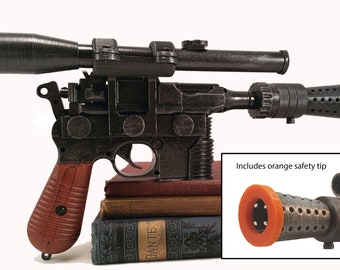 Airsoft - Han Solo's DL-44 heavy blaster pistol prop w/scope (made to order)