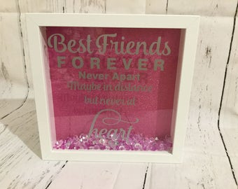 Best Friends forever never apart maybe in distance but never by heart, friendship gift, friends, friend