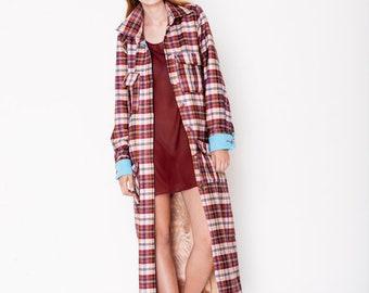 Spring Coat Shirt Grid
