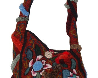 Gypsy at heart - embroidery sculpture handbag (David Wolfe, 2013)