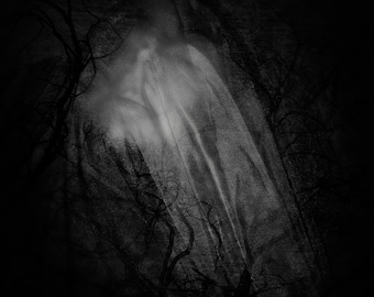 Dark Beauty Photography, Black and White Photography, Abstract Photography, Veil, Dark Art, Self Portrait, Beauty, Conceptual Photography