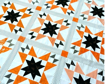 October Stars PDF Quilt Pattern