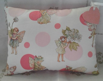 Pink Fairy Cushion