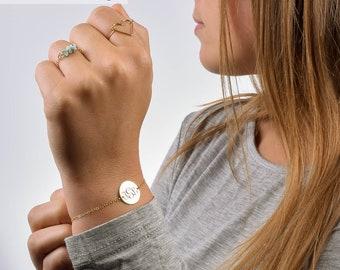 Monogram Bracelet, Custom Bracelet, Personalized Bracelet, Monogrammed Bracelet, Name Bracelet, Bridesmaid Bracelet, Custom Name Bracelet