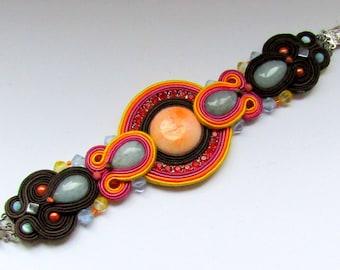 Soutache bracelet Color