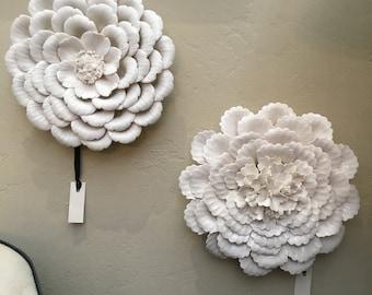 Beautiful Porcelain Wall Flowers