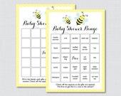 Bumble Bee Baby Shower Bi...