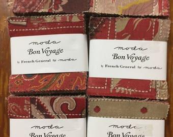 Bon Voyage mini charm pack