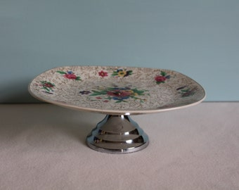 Vintage Cake Stand ~ Midwinter ~ Style Craft ~ Fashion Shape ~ 1950s ~ Vintage Tea Party