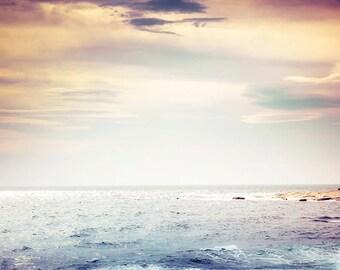 nautical prints beach photography sky 8x10 24x36 fine art photography ocean print beach theme decor nautical artwork sunset photography gray