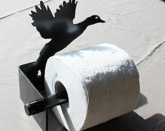 Duck Loo Roll Holder toilet roll towel rail