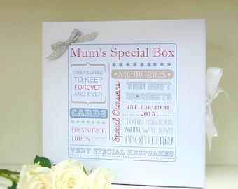 Mother's Day Keepsake Box | Mother's Day Gift | Keepsake Box | Memory Box