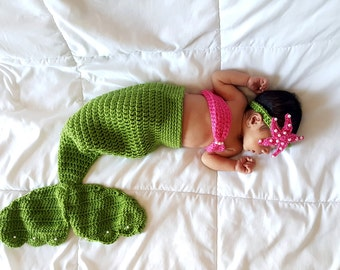 Baby Mermaid Outfit