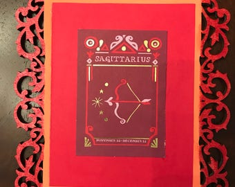 Zodiac Wall Art- Sagittarius