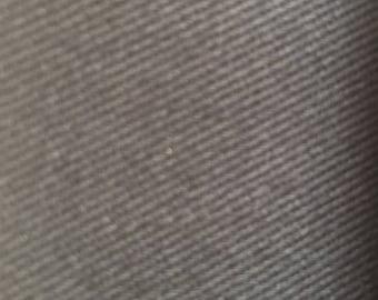Cotton Drill - black 100% cotton