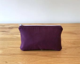 Zipper Pouch - Travel Bag - Zipper Bag - Toiletry Bag - Pencil Case - Pencil Pouch - Makeup Bag - Cosmetic Bag - Make Up Bag - Makeup Case