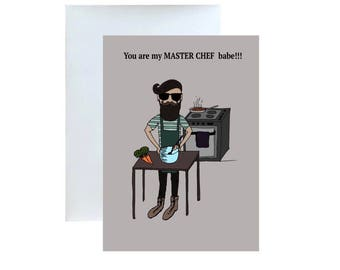 You Are My Master Chef!